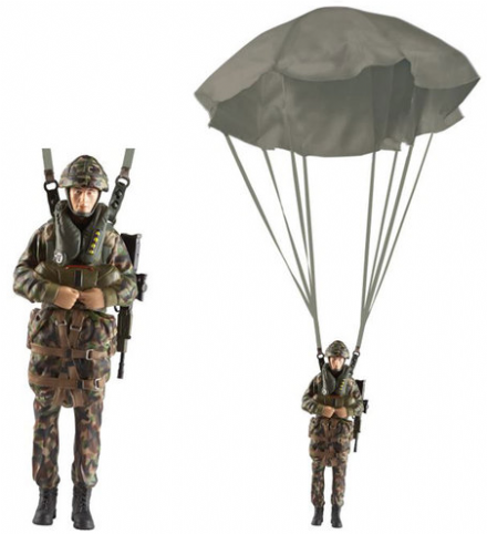 H.M. Armed Forces Paratrooper Figure